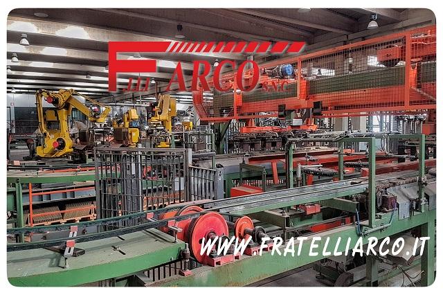 F.LLI ARCO s.n.c. - Revisione Macchinari - Impianto Robot FANUC
