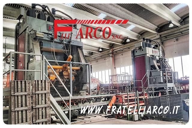 F.LLI ARCO s.n.c. - Revisione Macchinari Presse 16 PV Bongioanni